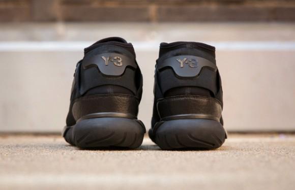 b89bfb7ca Y-3 Qasa High  All Black  - First Look - WearTesters