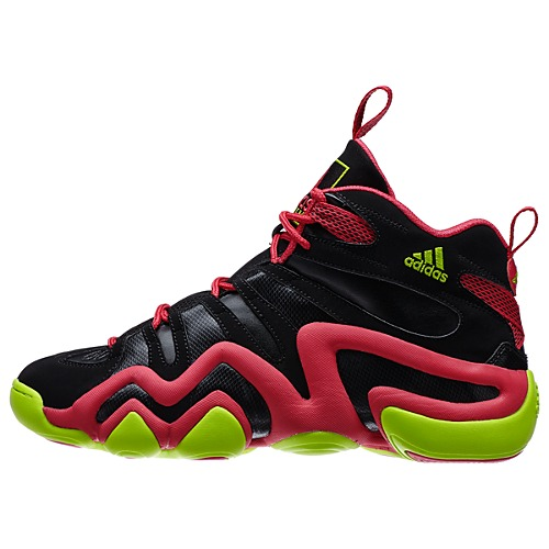 reputable site 9621b e89fc adidas Crazy 8 Black Pink - Electricity - Available Now 1