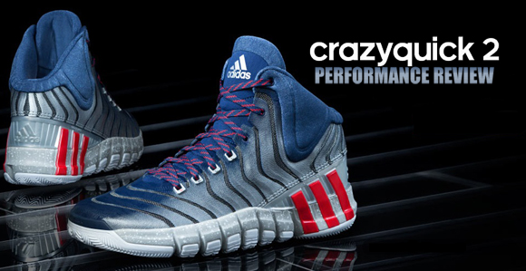buy online 3977c 5e2d5 adidas CrazyQuick 2.0 Performance Review - WearTesters