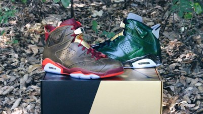 e2fcb50cdda3 Air Jordan 6 Retro  Championship Pack  – Up Close   Personal