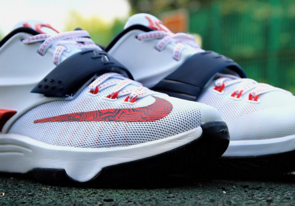 2af4d0e814a6 Nike KD VII  Independence Day  - Up Close   Personal - WearTesters