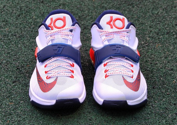 5162ea540c83 Nike KD VII  Independence Day  - Up Close   Personal - WearTesters