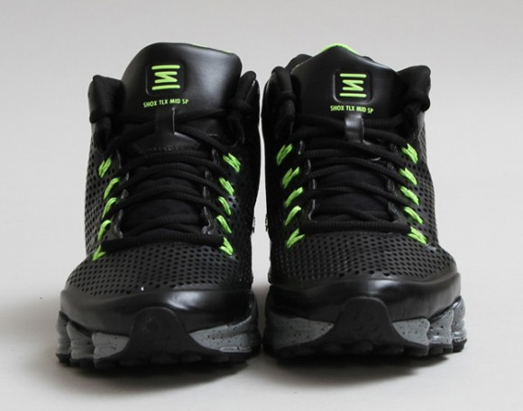 best website f02e9 e7370 Nike Shox TLX Mid SP Black/Volt: Release Reminder - WearTesters