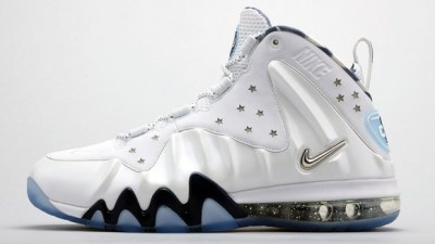 new styles 56192 04247 Nike Barkley Posite Max White Metallic Silver- Midnight Navy  Release  Reminder