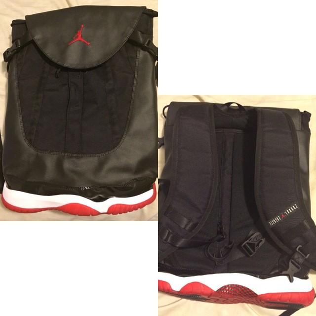 3f897e53b5cf Air Jordan 11 Backpack - Too Much  - WearTesters