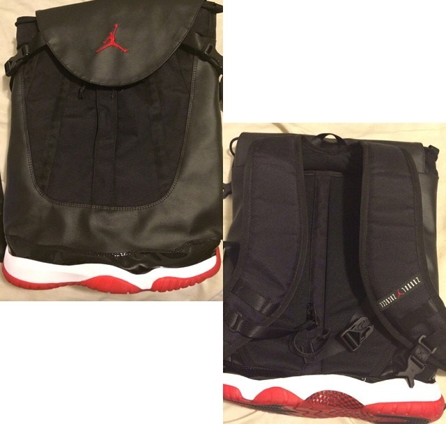Air Jordan 11 Backpack - Too Much  - WearTesters 13fa47934055e