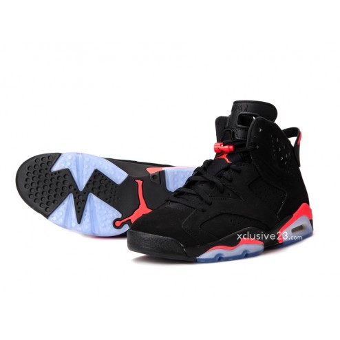 save off 54d15 05912 ... Look 5 Air Jordan 6 Retro  Black Infrared  - Detailed ...