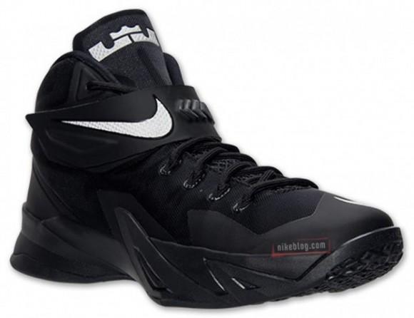 ac008fbfad6 Release Reminder  Nike Zoom Soldier 8 Black Metallic Silver ...