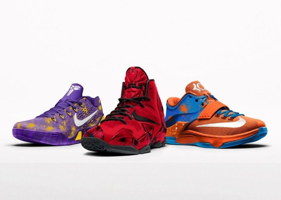 brand new c2292 6a499 NikeiD  Fireworks  Option Now Available on LeBron 11 and Kobe 9 EM ...