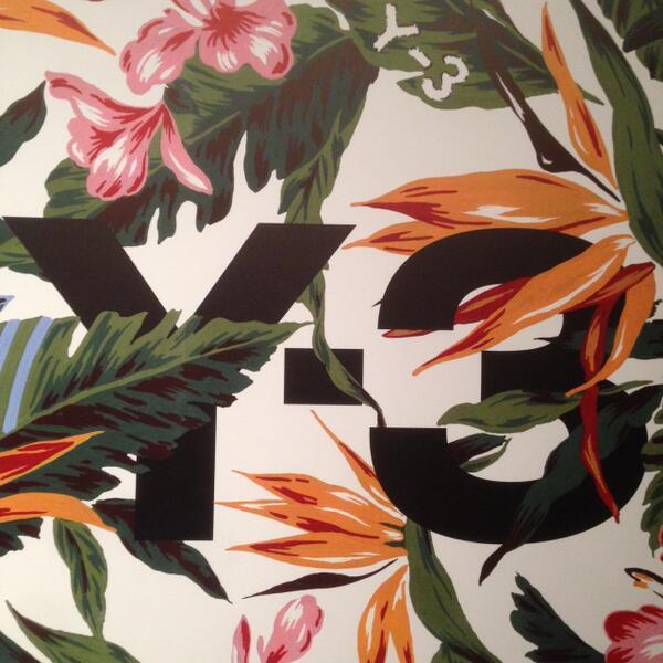7c59bdeb12c6 adidas Y-3 Spring Summer 2015  Floral Pack  - WearTesters