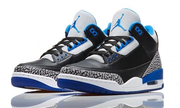 531482564017 Air Jordan 3 Retro  Sport Blue  - Release Reminder - WearTesters