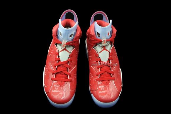 25953dc3374b Air Jordan 6 Slam Dunk - Detailed Look-4 - WearTesters