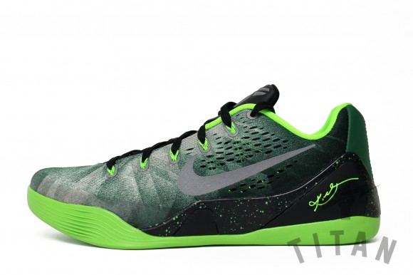 100% authentic a68e9 1e872 Nike Kobe 9 EM PRM Gorge Green  Metallic Silver- Electric Green - Release  Info