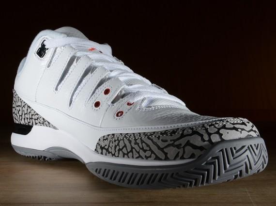 d18ee0e56b6 Nike Zoom Vapor 9 Tour x Air Jordan 3 - Release Details - WearTesters