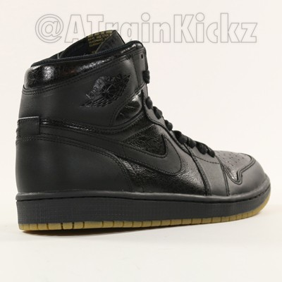 1fc74bd51ef Air Jordan 1 Retro High OG Black  Gum - First Look - WearTesters