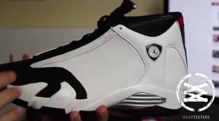 uk availability c690b 56308 Air Jordan 14 Retro  Black Toe  2014 - Detailed Look   Review ...