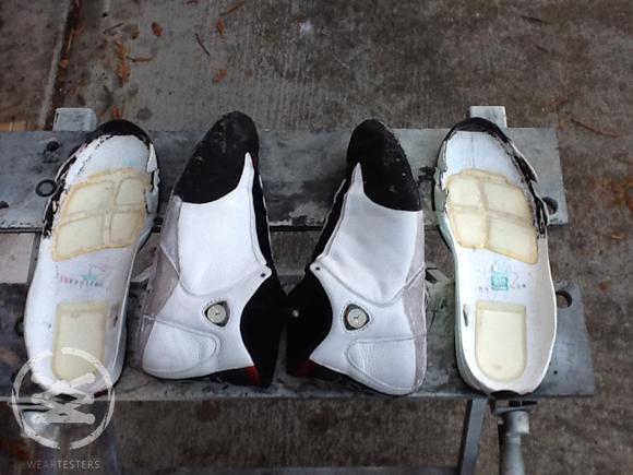 00e2d872b451 Inside an Original Pair of Air Jordan 14  Black Toe  - WearTesters