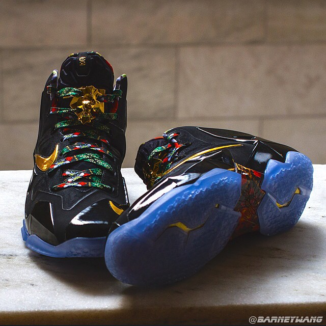 2c316edc8b3 Nike LeBron 11  Watch The Throne  Sample - WearTesters