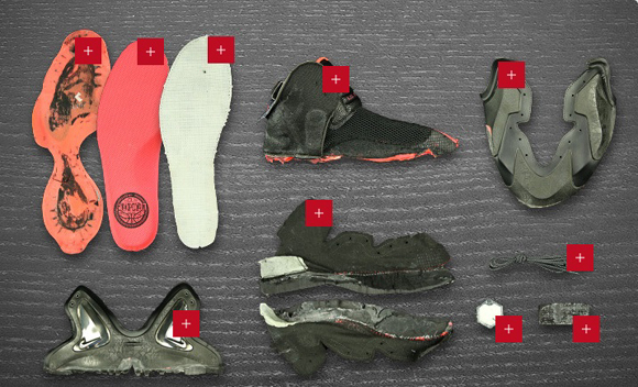 various colors 64172 ed5f3 ... Nike Lil Penny Posite Deconstructed 17