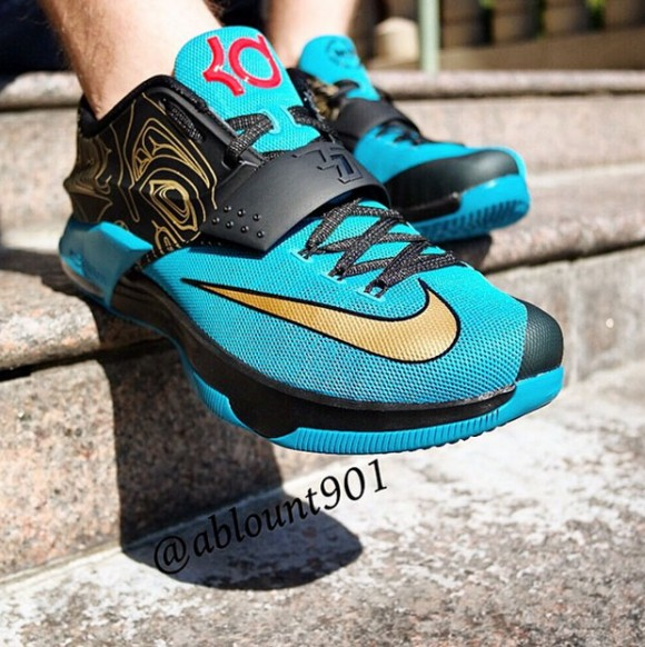 be20f46f087 Nike KD 7  N7  - Detailed Look - WearTesters