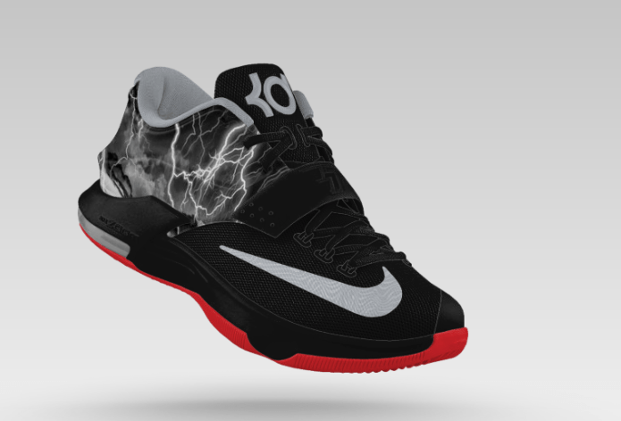 official photos ecdb8 4a588 Nike KD7 'Uprising' Graphic Now on NikeiD - WearTesters