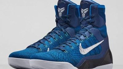 d8ce8ecf543 Nike Kobe 9 Elite  Brave Blue  – Official Look + Release Info