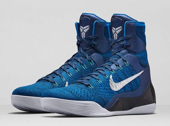 new arrival 6f989 c887e ... Nike Kobe 9 Elite  Brave Blue  - Official Look + Release ...
