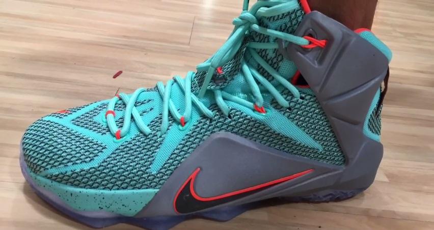 7c14d2db5ba Nike LeBron 12  NSRL  - Detailed Look + On-Foot - WearTesters
