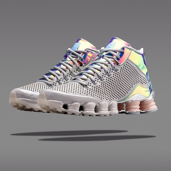 7669145c18f7 Nike Shox TLX Mid  Iridescent  - Available Now - WearTesters