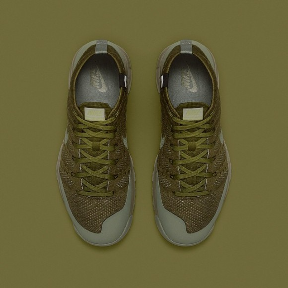 62ba716bb0856 ... wholesale nikelab flyknit trainer chukka fsb sage and white official  images release info 2 5538d 7bfea