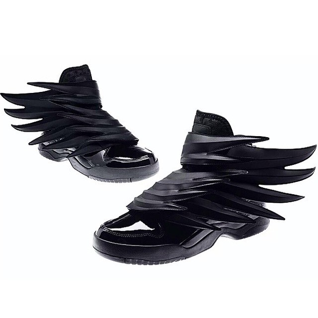 buy popular b7cd7 9fd29 ... adidas Originals by Jeremy Scott JS Wings 3.0  Dark Knight 2