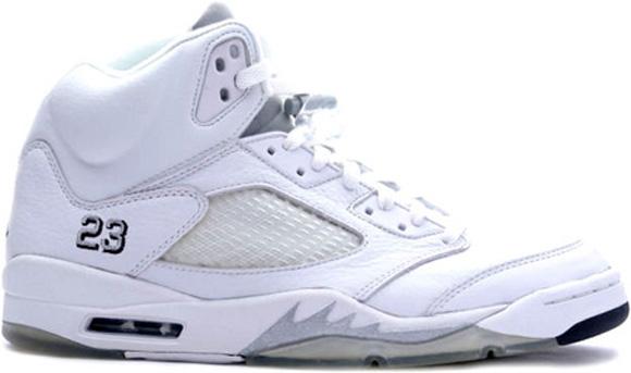 a2e4f5c25adca Air Jordan 5 Retro White  Metallic Silver - Release Date - WearTesters