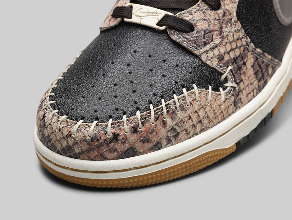 watch 85be9 86bfb ... Nike Dunk CMFT Premium Crocodile ...