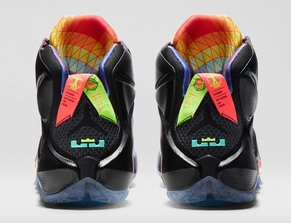 check out 92fe1 124ef Nike LeBron 12 Data – Official Look + Release Info 5