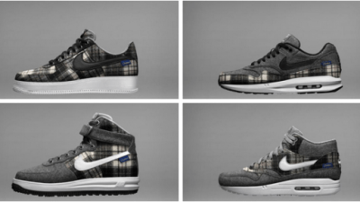 eb98b9727df Nike Air Force 1   Air Max 1 Pendleton Wool – Available Now on NikeiD