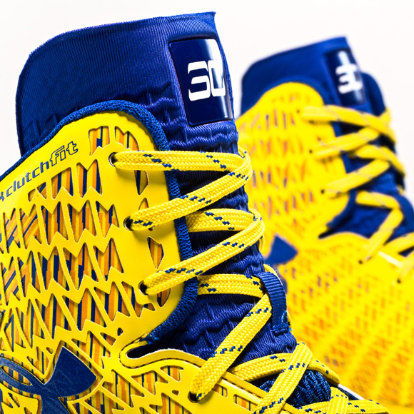 93559152c83f ... Under Armour ClutchFit Drive Stephen Curry Yellow PE - New Images +  Release Reminder 2 ...
