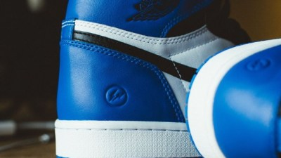 buy popular bc55b c6a9b Air Jordan 1 x Fragment – Up Close   Personal
