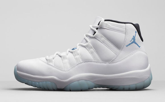 new style bbfd2 39698 Air Jordan 11  Legend Blue  - Official Look 1