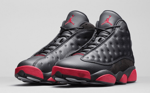 Air Jordan 13 Retro Black Gym Red - Official Look + Release Info 1 ... 9c42cc5f6dc2