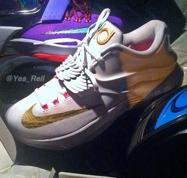 175ac07cde8 Nike KD 7  Aunt Pearl  - First Look - WearTesters