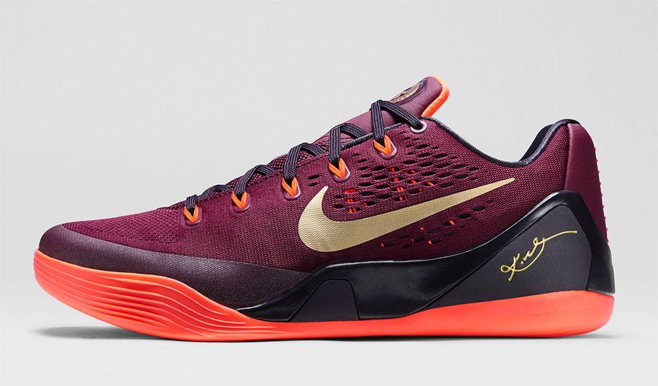 9cb9b23045bd Nike Kobe 9 EM  Deep Garnet  - Release Information - WearTesters