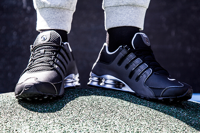 more photos 5b9a2 dc94c Nike Shox NZ  Reflective Silver -1