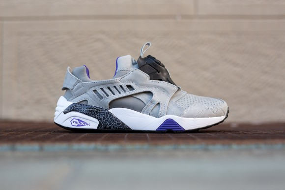 finest selection f40a6 9a72f Puma Disc Blaze  Crackle Pack  Grey Violet - WearTesters