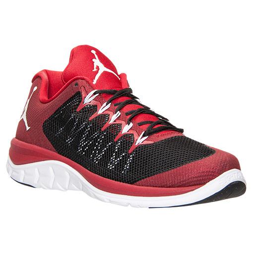 369480c9a4d58b Jordan Flight Runner 2 Black  Gym Red - WearTesters