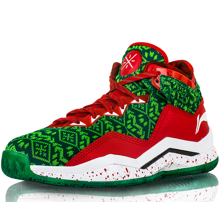 huge selection of f6288 048e2 Li-Ning Way of Wade 3 LE  Christmas  - Available ...