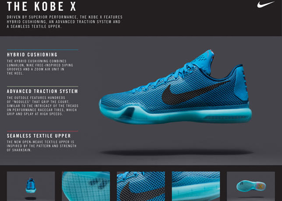 the latest c33b1 c1421 Nike Basketball Officially Unveils the Kobe X 4. ""