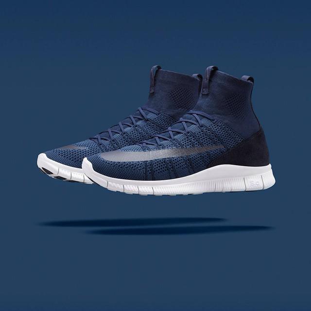 reputable site 9ddc7 c5b3f Nike Free Mercurial Superfly Dark Obsidian  Dark Grey ...