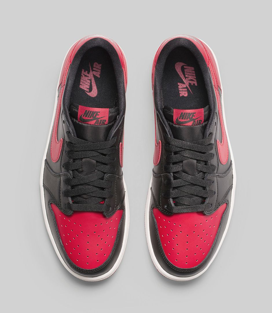 be0ffdfca47d24 Air Jordan 1 Low OG  Bred  - Release Date-2 - WearTesters