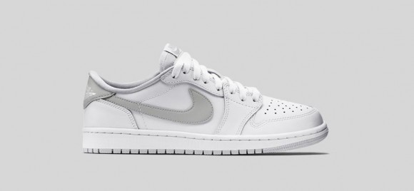 0b3973bed6f1 Air Jordan 1 Retro Low OG White  Neutral Grey - WearTesters