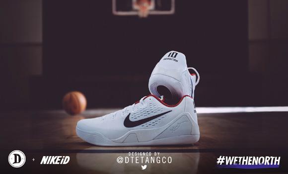 official photos 493dd 39bb8 DeMar DeRozan Will Wear Fan Designed Nike Kobe 9 EM NIKEiD